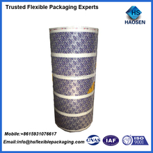 Eco friendly laminated packaging plastic film for water pouch/sachet packaging film