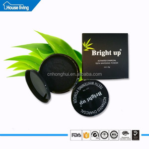 100%Pure Carbon Food Grade Activated Coconut Shell Bamboo Charcoal Teeth Powder