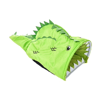 Tianyuan Pet Funny Big Mouth Fish Pet Cave Dog Tunnel Bed Large,Dog Sleeping Bag