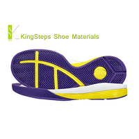 Rubber basketball shoes sole EVA skidproof sports shoe outsoles made in Jinjiang KSXFY-1604