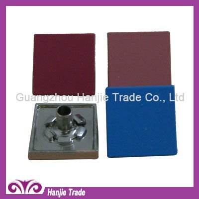 Decorative Alloy Flat Top Square Rivet Studs for Leather Belts