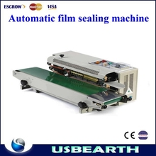 New automatic film sealing machine FR-900 is suitable for plastic bag sealing machine stainless steel C-type sealing machine