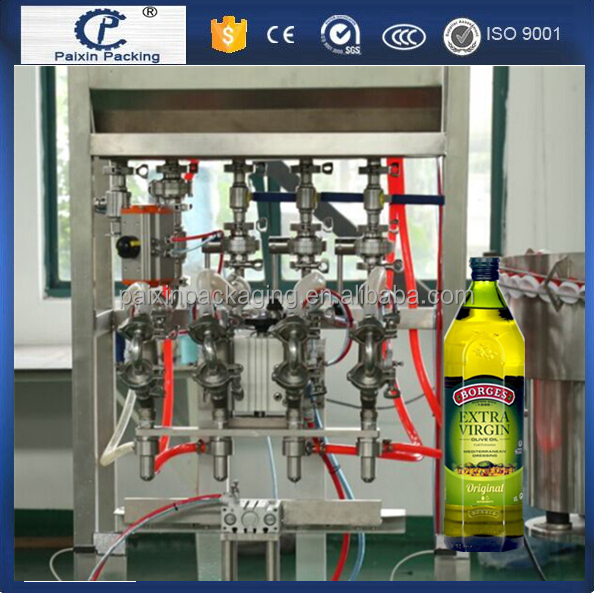 Customized packing line sunflower peanut oil filling mahcine Cheap Cost effective
