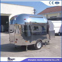JX-BT300 mobile food carts Mobile Stainless Steel Hot Dog Cart/concession trailer/towable food trailer for sale