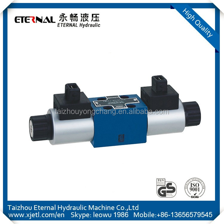 High Efficiency 4WE10L33 electronic control system Hydraulic directional control Valve
