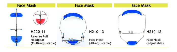 Medical Dental Face Mask Orthodontic Headgear