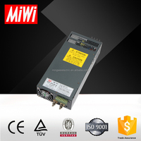 SCN-600 CE approved ac to dc 600w 12v adjustable power supply