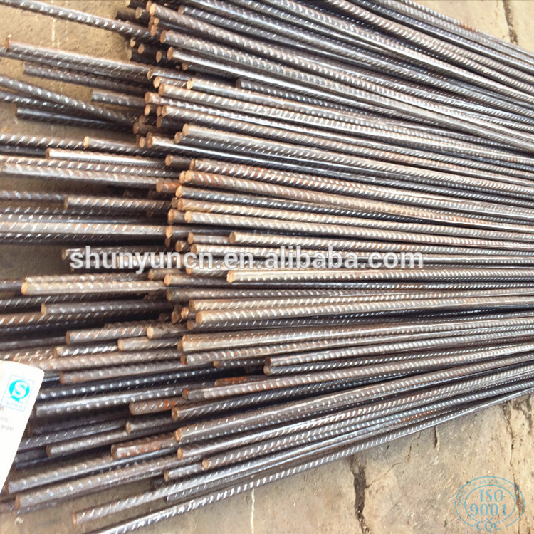 Wholesale steel rebar round iron steel rod for construction steel bars