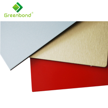 Greenbond aluminium composite fireproof facade panel for kitchen cabinets