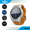 1.3inch Full Round IPS Screen Smart Watch Phone 2017 Work With Android And IOS Smart Phone