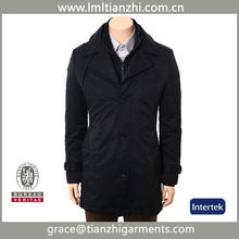European fashion new style man coat melton wool long 2012 winter coat