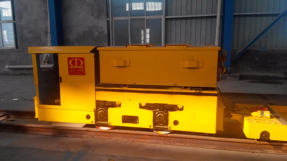 China noiseless 35t railroad haulage battery locomotives for tunnel and industrial mining