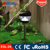 High Quality Stainless Steel Outdoor Garden Solar Lights Cat
