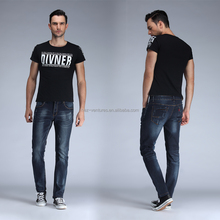 100%cotton mens denim jeans wholesale denim man pants jeans trousers 5 pockets denim jeans pant