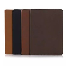 Retro style with card slot flip tablet leather case for iPad air 2,for iPad air 2 case