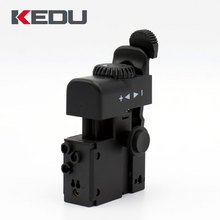 KEDU AT-11 250V 8A Single Pole Lock On Dustproof AC Multi Speed Control Switch For Power Tool