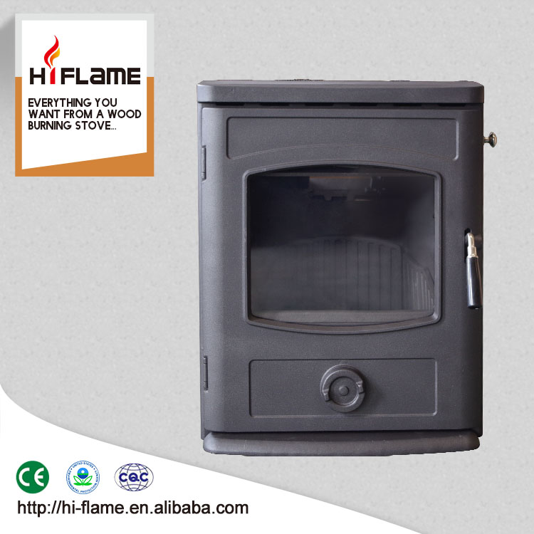 Brand new HiFlame real fire wooden stove doors with glass Stove Inserts GR357I