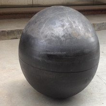 "Precision 36"" large hollow steel half ball with cheap price"