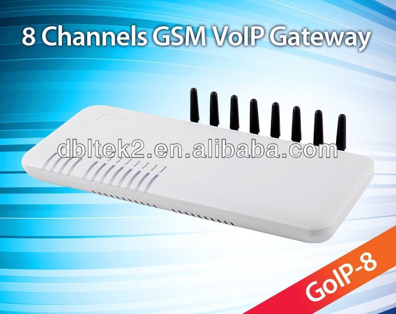 8 ports gsm voip gateway voice over ip phone companies GoIP8