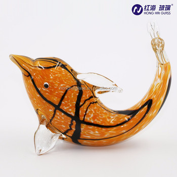 Fancy home decor factory wholesale colorful dolphins artware craft