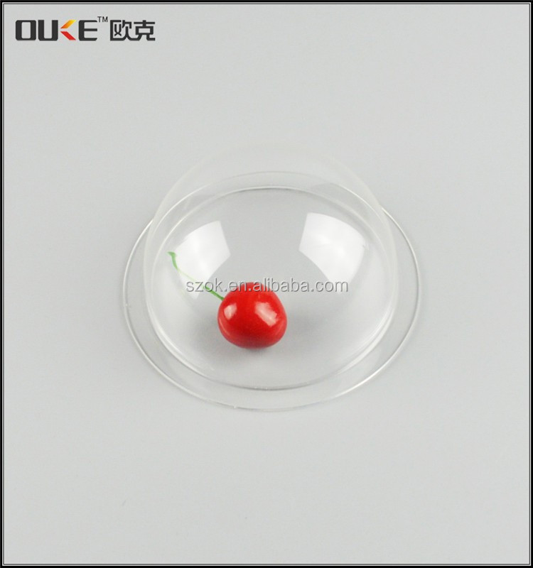 online retail store high glass acrylic dome cover for food