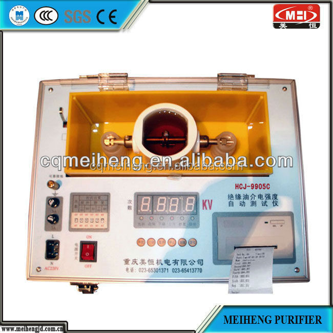 HCJ High Efficient oil dielectric strength tester tractor modern used cooking e waste recycling machine