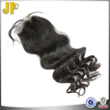 JP Hair 2015 New Arrival Loose Body Wave Swiss Lace Weave Closures