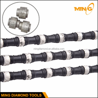 Granite Wire Saw Cutting Machine Rubber Wire Saw Rope Quarry Cutting Tools