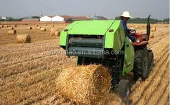 High Efficiency and Professional Hay Baler Round Hay Baler