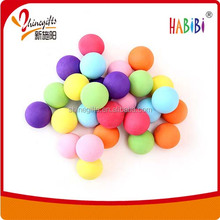 Colored eva high quality foam ball small soft toy gun foam ball