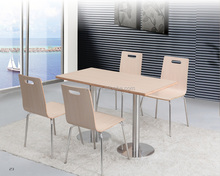 whosale fast food table and chair set