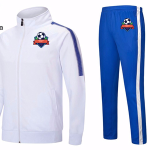 Long sleeve football training suit,autumn&winter men's soccer jacket,quick dry soccer team uniforms