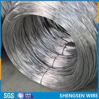 bright color galvanized iron wire for coat hangers