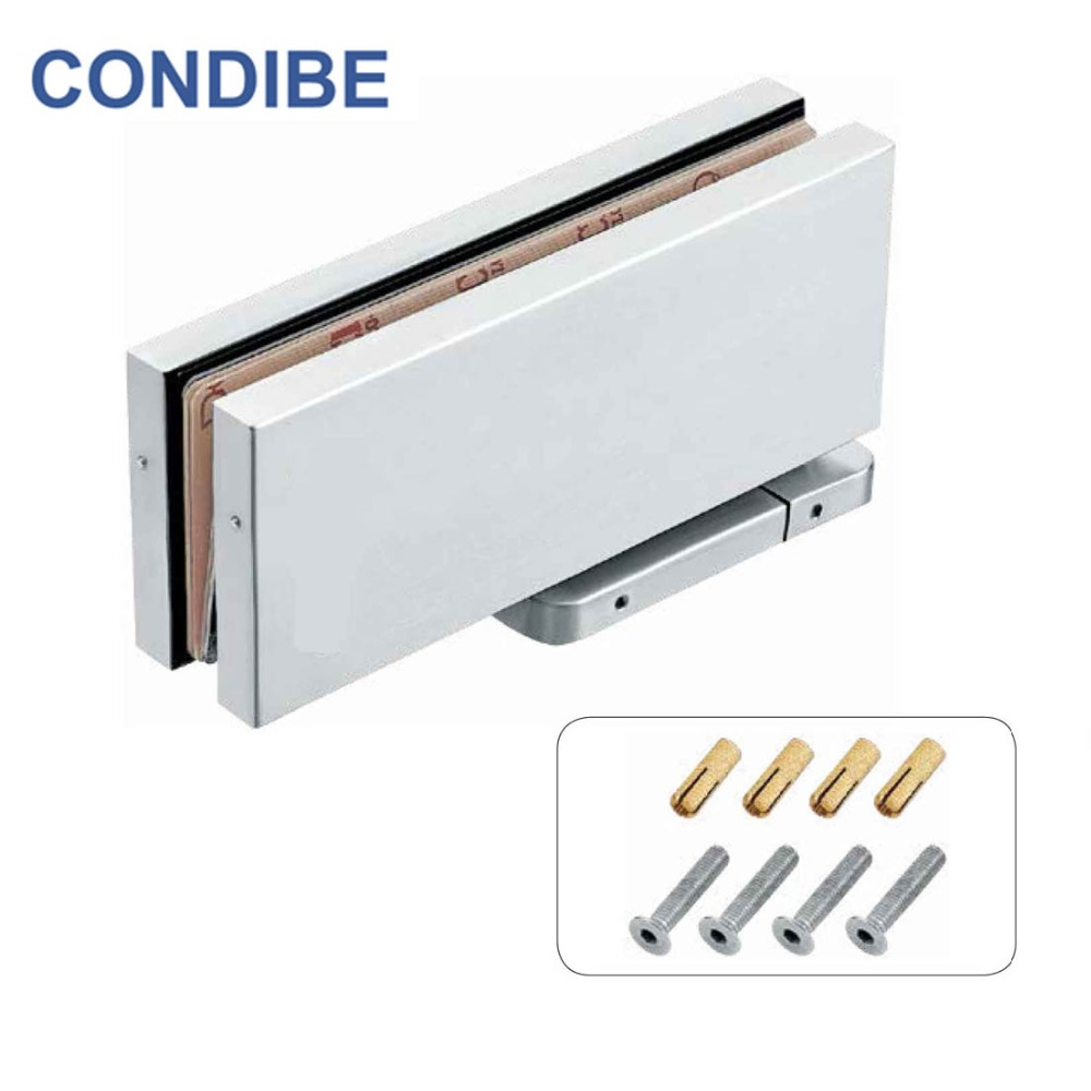 Condibe bathroom glass door floor spring hinge