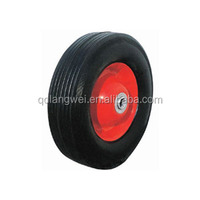 "8x2 solid wheel 8 "" tire for hand trolley tools and kids toy"