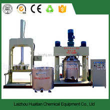 Production of polyurethane sealant dual planetary vacuum mixer