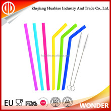 Factory customized colored hard plastic drinking straw