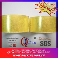BOPP Rolls clear box carton sealing tape with water based glue for carton sealing PT-50