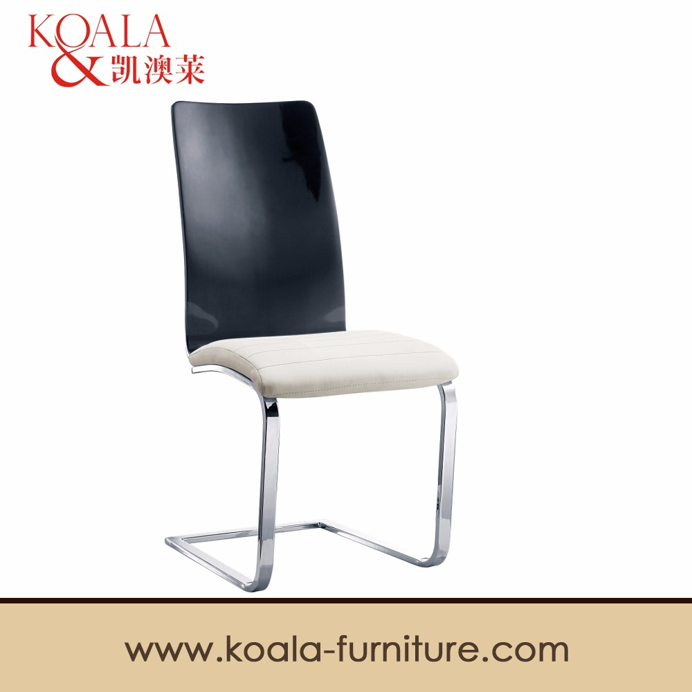 wholesale high glossy hotel dining <strong>chair</strong> with pu B33