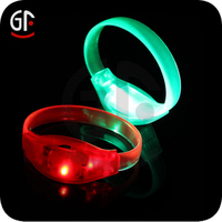 Halloween Free Sample Cheap Custom Led Flashing Beautiful Bracelet