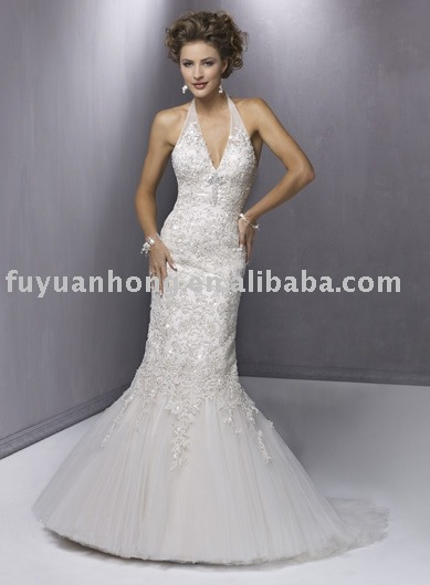 wedding gown/bridal wedding dress/ FYH-WD1208