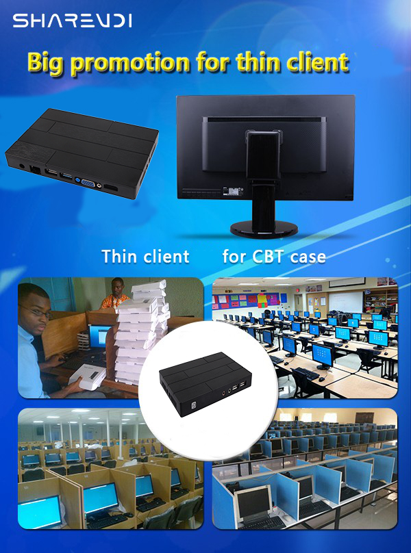 2017 New cloud terminal pc station rdp 7.1 thin client for school