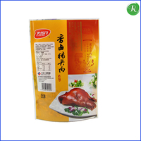 Stand up vacuum food packing bags for chicken