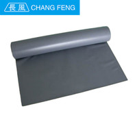 Manufacturer fireproof silicone rubber coated polyester fiberglass high temperature fabrics