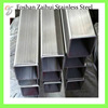 China Foshan Product Rectangular Steel Tube Sizes Stainless Pipe Importer