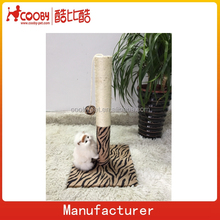 2015 New Wholesale Leopard Print Cat Scratcher Cat Craft Deluxe Luxurious Sisal Cat Tree