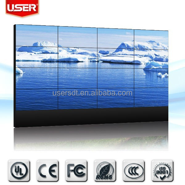 40 inch DID LCD Video Wall with DVI,HDMI,VGA