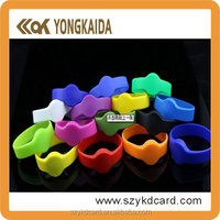 RFID silicone Waterproof wristband/RFID bracelet Manufacturer For Water Park