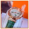 colorful Crystal ladies quartz watch bezel japan movt japan movt diamond quartz watch