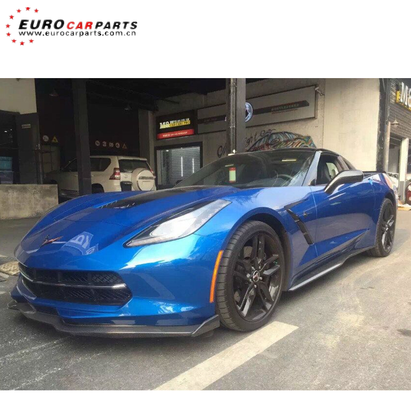 C7 <strong>Z06</strong> front lip carbon fiber material fit for Cor-vette C7 <strong>Z06</strong> carbon fiber front lip